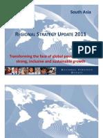 South Asia Regional Strategy 2011