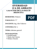 INFORME DE HIPERTENSIÓN ARTERIAL