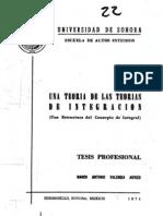 Teorias de Integracion TesisValencia