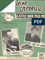 A Little Bird Told Me - Harvey O Brooks