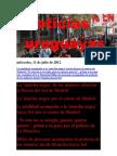 Noticias Uruguayas miércoles 11 de julio del 2012