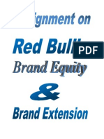 Red Bull's Brand Equity & Brand Extension
