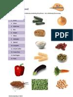 Vocabulary - Food