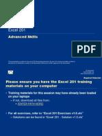 Excel 201 Macros & Controls