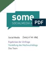 Social Media AG Flyer