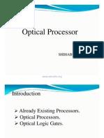 Optical Processor