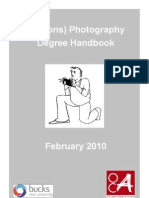 Photography Degree Handbook