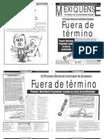 Versión impresa del periódico El mexiquense 11 julio 2012