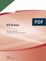 International Food Standard - Broker
