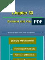 Ch 30 DividendandValuation