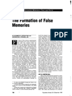 Loftus and Pickrell - The Formation of False Memories