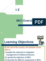 IMCI Session 2- An Overview of the IMCI