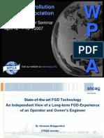 State-Of-The-Art FGD Technology by Hermann Brueggendick-Steag Encotec