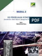 2. K3 Pekerjaan Konstruksi