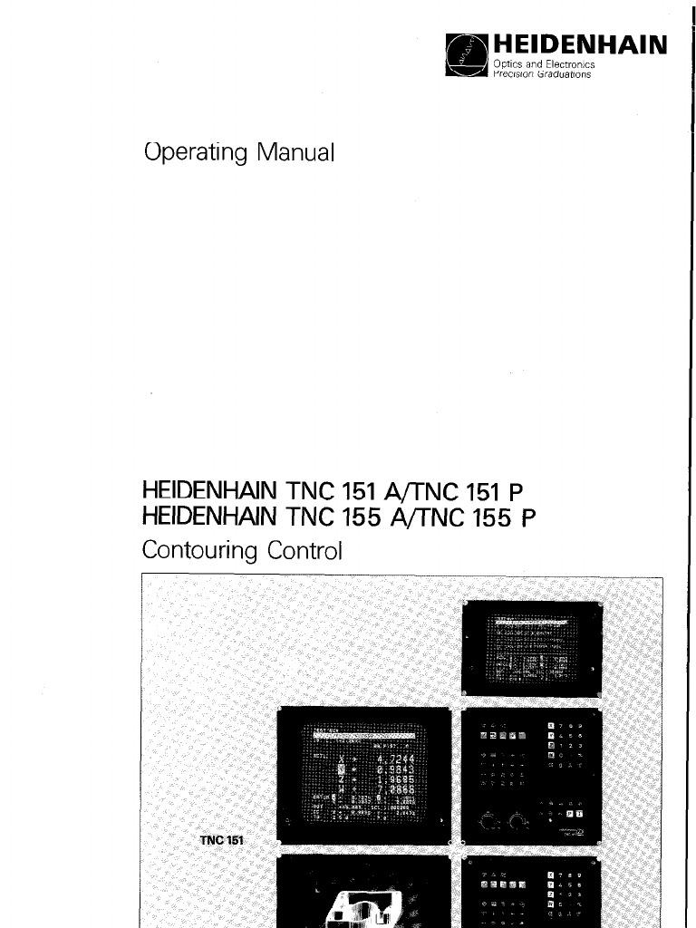 heidenhain tnc 151 155 operating manual cartesian coordinate rh scribd com Altivar 61 Programming Manual Mazatrol Programming Manual