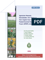 Irrigation Water Management Crops and Cropping Systems n Irrigation Tank Command Areas of Andhra Pradesh, India