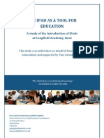 The iPad as a tool for education - Naace Report Supported by 9ine Consulting