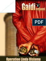 Gaidi Mtaani (Street Terrorist) - Issue 1