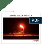Origin Spring Gully