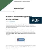 Membuat Database Menggunakan MySQL Dan PHP _ Blognya Riza Agustiansyah
