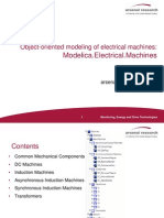 Object-Oriented Modeling of Electrical Machines Part I