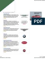 Car Manufacturer in India (Profiles)