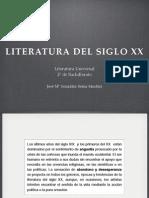 Literatura en el siglo XX