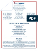 Final Romney Invitation