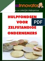Hulpfondsen Voor Ondernemers 2012