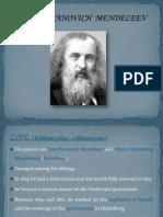 Ppt-dmitr Ivanovich Mendeleev