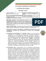 INFORME COORDINACION GENERAL AUCM JUNIO 2012