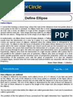 Define Ellipse