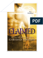 Sexy Paranormal Romance THE CLAIMED - Free Read