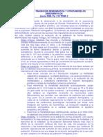 MODELO DE TRANSICIÓN DEMOGRÁFICA Y OTROS MODELOS DEMOGRÁFICOS