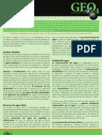 Boletín Informativo 6 Agua