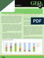 GEO-4 Boletín Informativo tierra y bienestar Humano