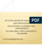 Management Information System Dr M H Shah, AIOU Islamabad
