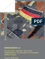 Justyna Gotkowska, Bundeswehr 3.0