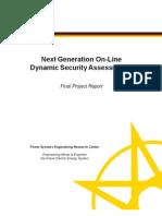 PSERC Final Project Report S-38 Nov 2011