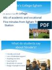 Strode's College Egham
