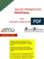 Chelsea Sales Promotions 2012