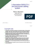 En 50173-DATA Cabling - Standards