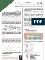 APOSTILA  QUÍMICA 1 - tabela periodica IFMS