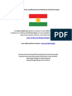 Textos Biblicos y Publicaciones Cristianas en Kurdo