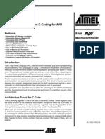 Efficient C Coding for AVR