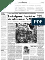 LAS IMAGEGENES CHAMANICAS DEL ARTISTA ALANN DE VUYST