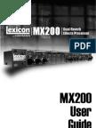 Manual Lexicon MX200 Inglês