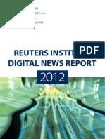 Reuters Institute Digital Report 2012