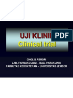 Uji Klinik Obat