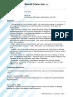 DanEmmerson CV